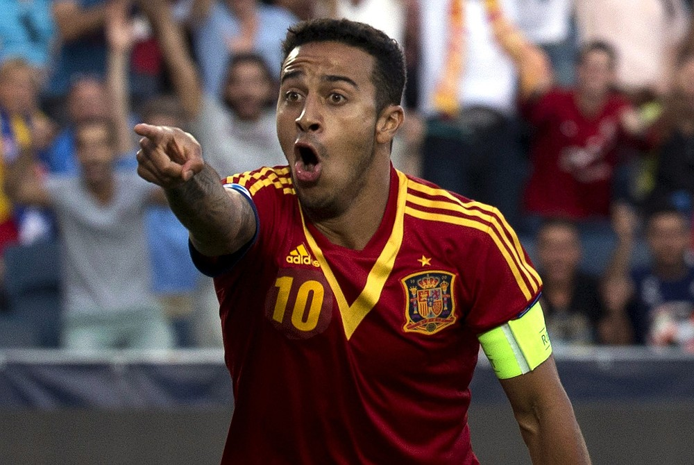 Heading to Munich: Thiago Alcantara (Picture: AFP/Getty Images)