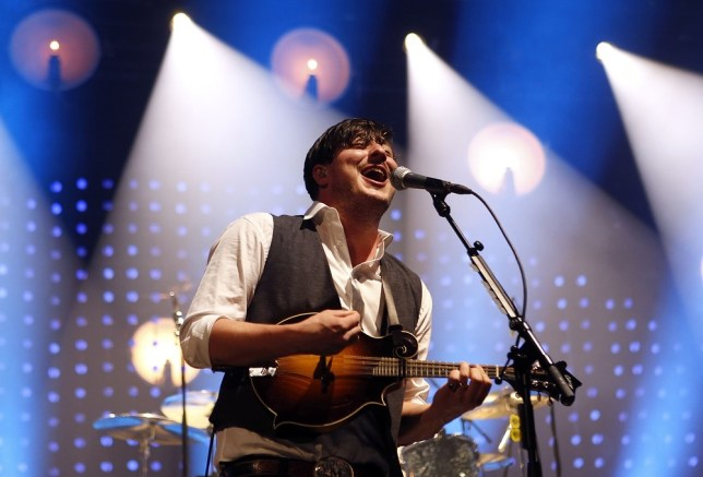 Marcus Mumford has opened up about Ted Dwayne's surgery (Picture: AP)