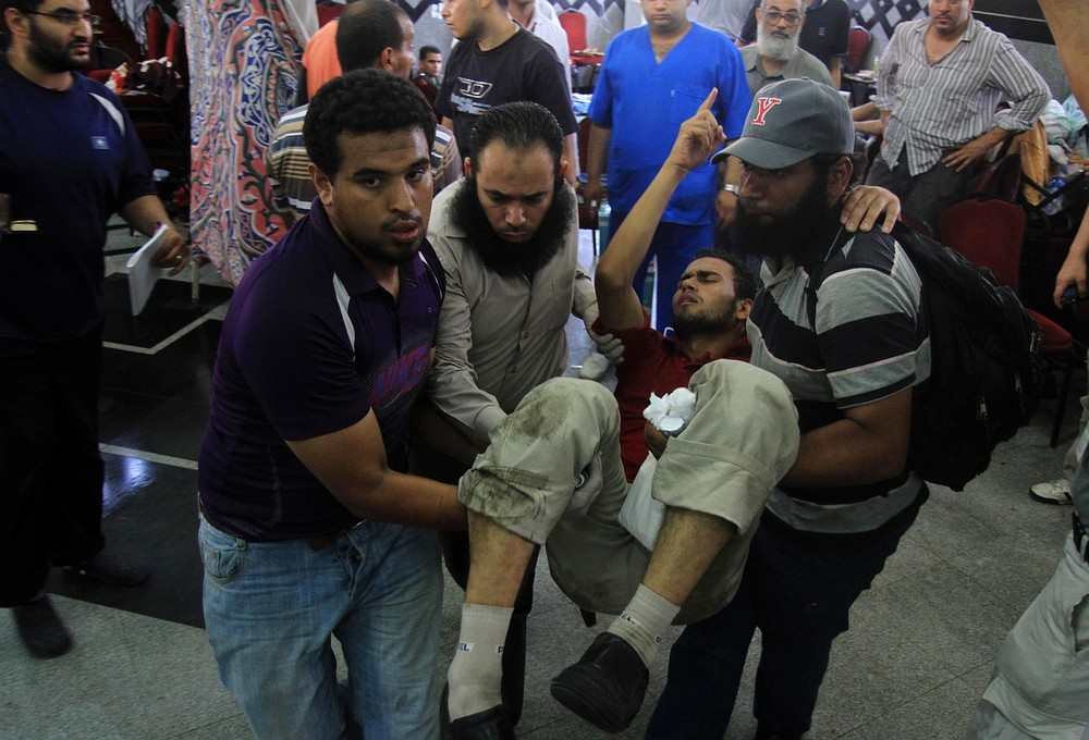 Egypt in further crisis as pro-Mohammed Morsi protest ends in bloodshed