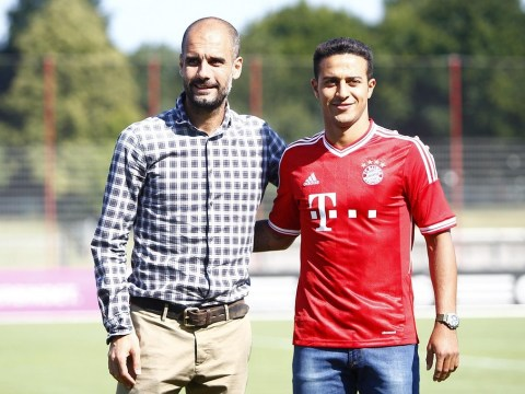 Thiago Alcantara: Pep Guardiola was a bigger draw than David Moyes