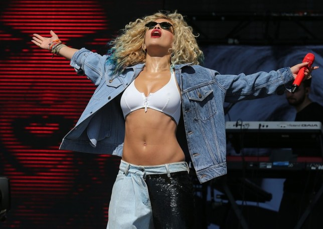 Rita Ora will be performing at the Unity gig (Picture: PA)