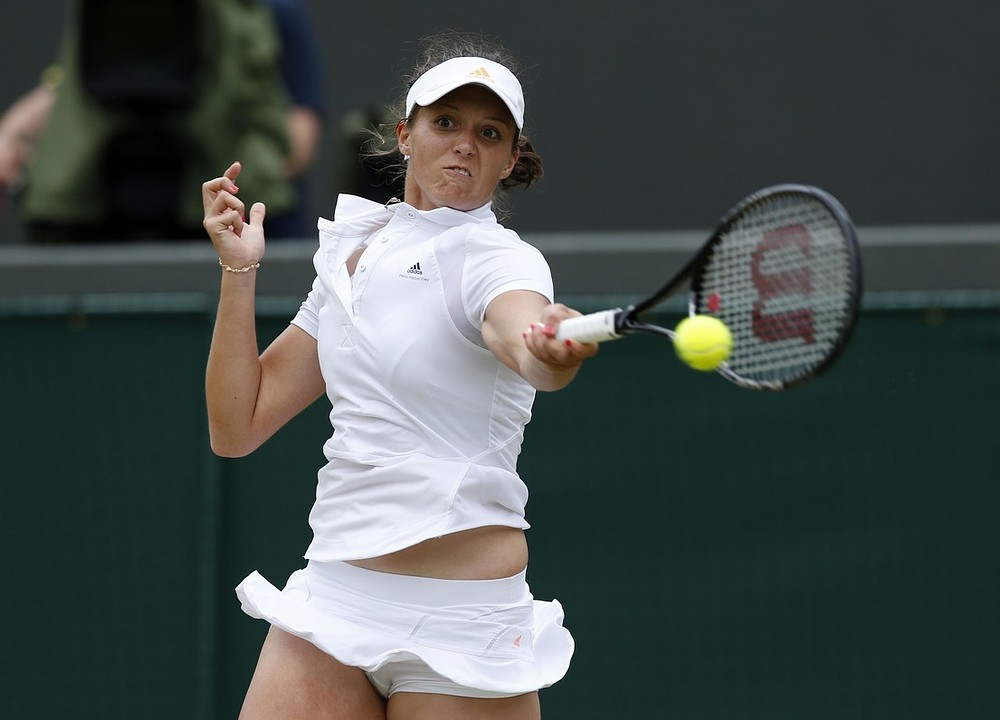 Wimbledon 2013: Laura Robson's Wimbledon run ends with fourth round defeat to Kaia Kanepi
