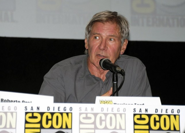 Harrison Ford at Comic-Con