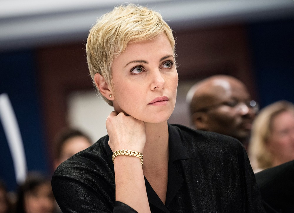 Charlize Theron is reportedly one of three actresses in line to play the female lead in Goen Girl (Picture: Getty)