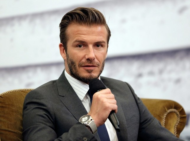 Kids show:  David Beckham  will appear on a new Sky Sports show on Saturday mornings (Photo: Getty Images)