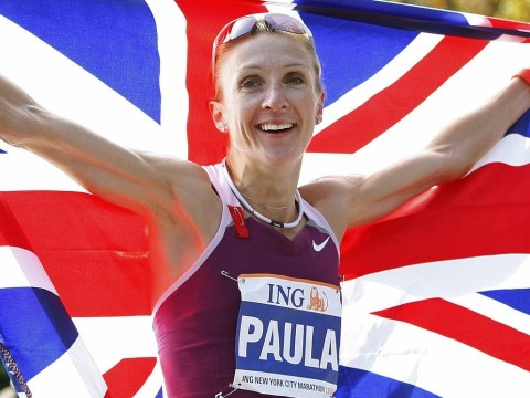 Paula Radcliffe finally gets to Olympic Stadium after joining National Lottery Anniversary Run