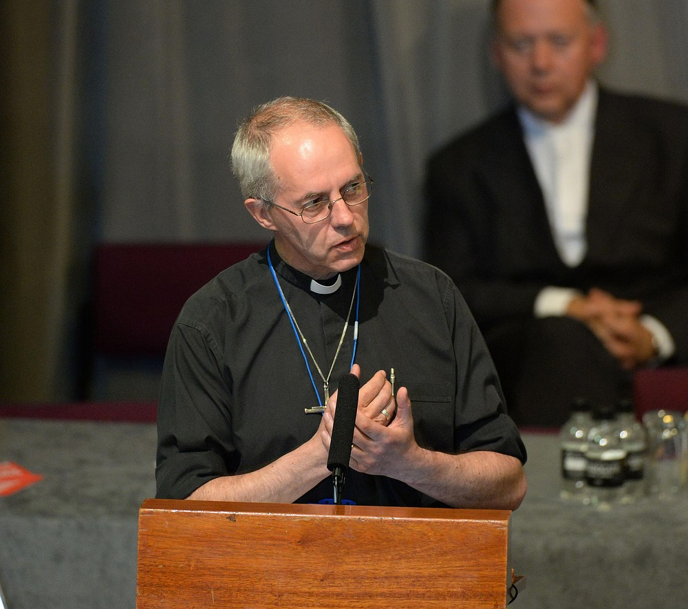 Archbishop of Canterbury 'very embarrassed' over Wonga links to Church of England