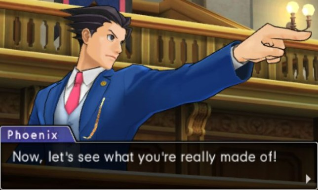 Phoenix Wright: Ace Attorney – Dual Destinies - no objections