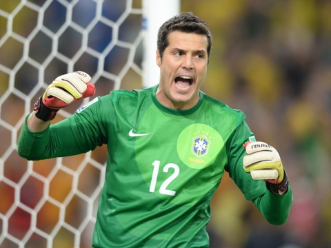 Arsenal target Julio Cesar sticking with QPR, says Brazil boss