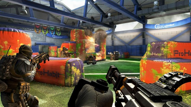 Call Of Duty: Black Ops II – Vengeance (360) – virtual paintball