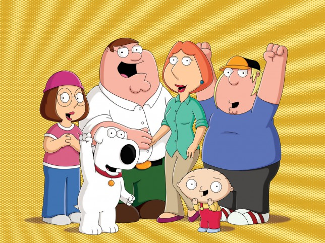 Freakin' sweet: ITV now has rights to Family Guy and American Dad and will air new episodes later this year