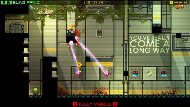 Stealth Inc: A Clone In The Dark (PS3) – somebody is watching you