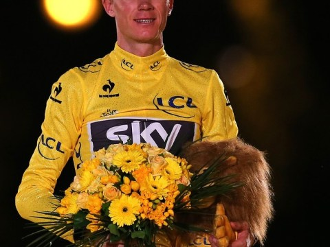 Chris Froome targets rainbow jersey of world champion after toasting Tour de France glory