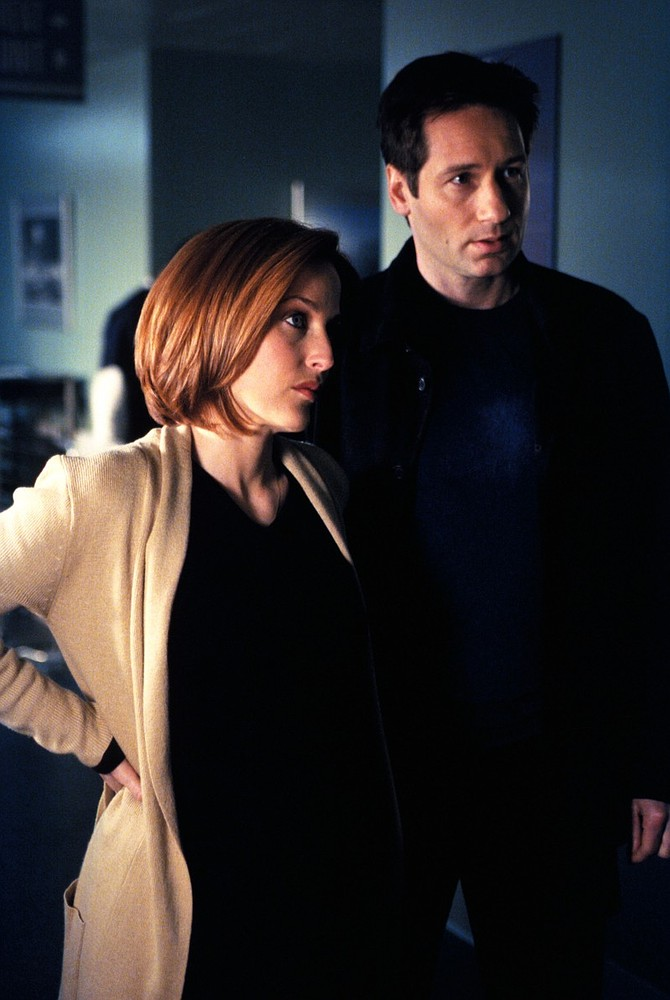 Gillian Anderson and David Duchovny hint at new X-Files film on Reddit AMA