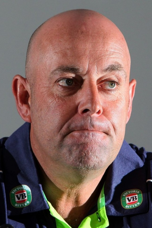 Realistic: Lehmann was not despondent following Trent Bridge (Picture: AFP/Getty Images)