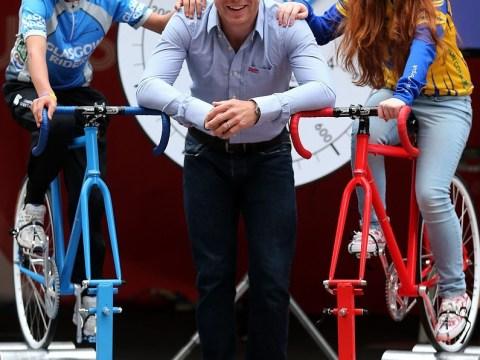 Sir Chris Hoy kick-starts one-year countdown to 2014 Glasgow Commonwealth Games