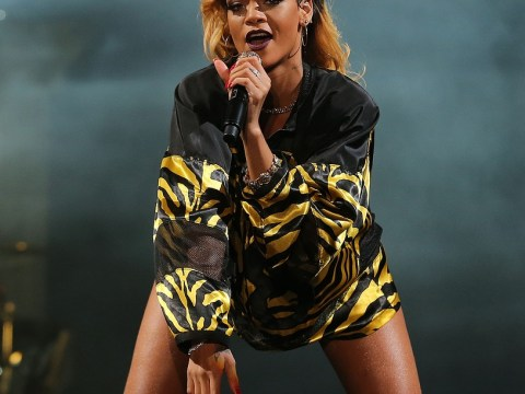 T In The Park 2013: Rihanna makes fiery debut