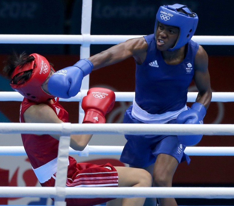Olympic champion Nicola Adams closes in on gold at European Union Championships