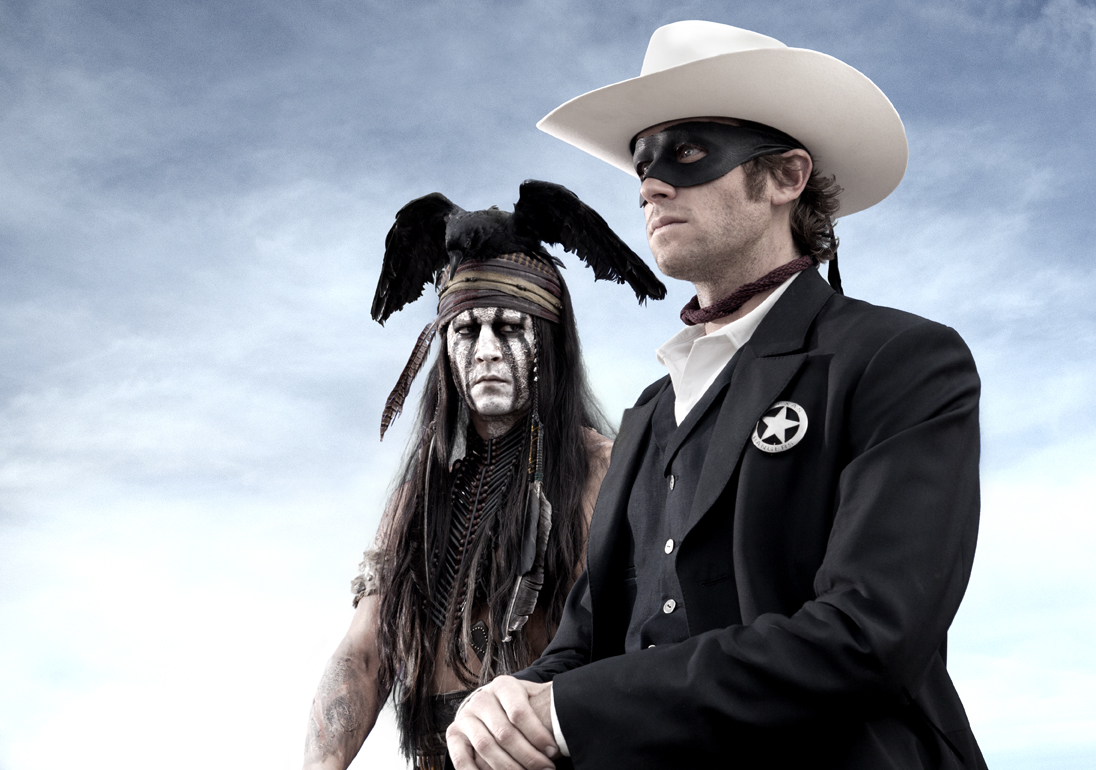 Do blockbusters like The Lone Ranger make it difficult for Westerns to make it big at the cinema?