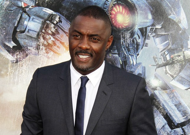 Idris Elba has been chatting to Barack Obama about TV (Picture: Xposurephotos.com)