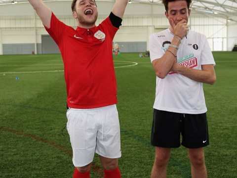Gallery: FA 150th Anniversary Celebrations – Olly Murs v Nick Grimshaw 2013
