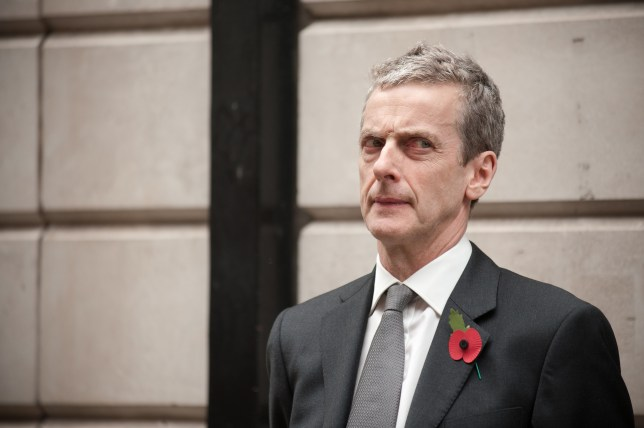 Peter Capaldi plays Malcom Tucker in The Thick of It (Picture: BBC)