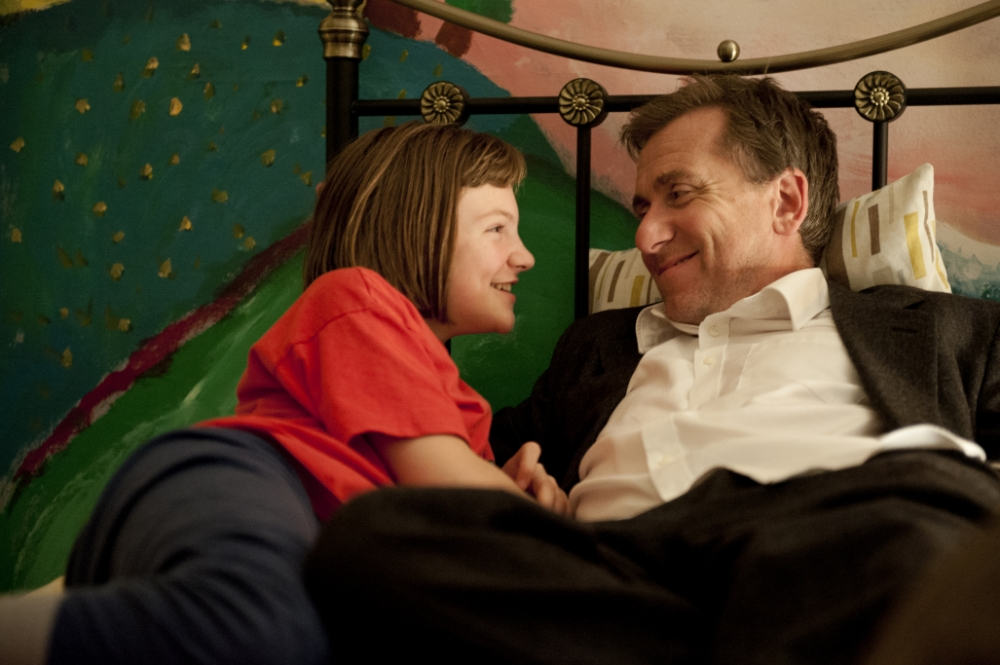 Eloise Laurence and Tim Roth star in Broken (Picture: Studiocanal)