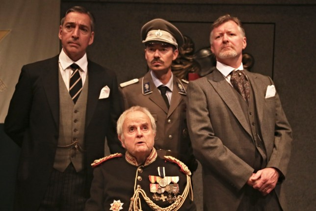 Miles Richardson, Rodney Bewes, Damian Quinn and Mark Carey in The Moment Of Truth (Picture: supplied)