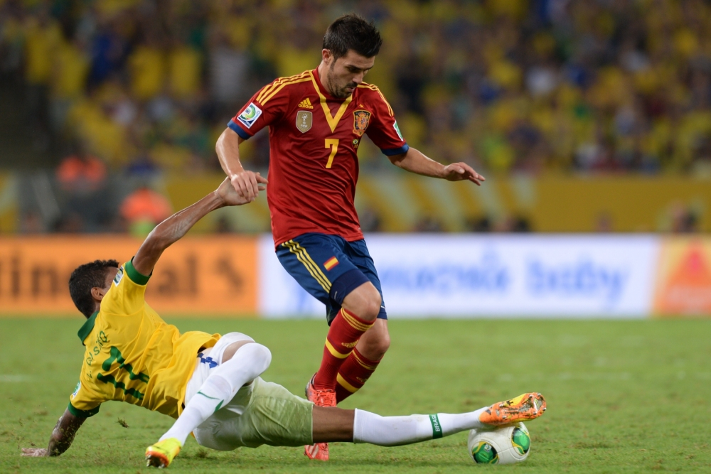 Tottenham beaten to David Villa signing by late Atletico Madrid move