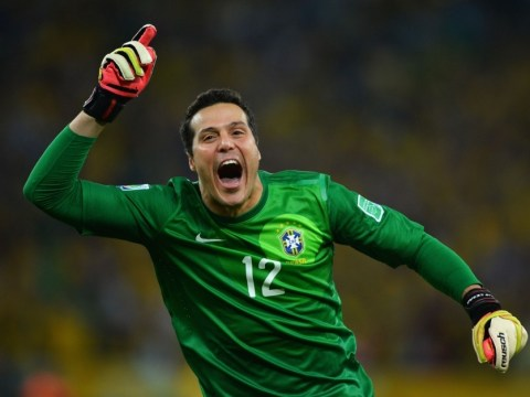 Julio Cesar opens the door to Arsenal transfer