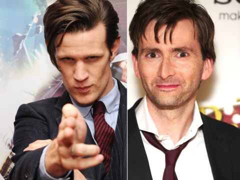 Matt Smith and David Tennant set for TV Choice Awards showdown