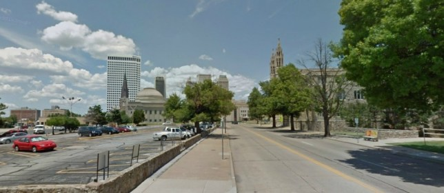 A screen grab of the Oklahoma city of Tulsa, which intends to bid for the Olympics (Picture: Google Street View)