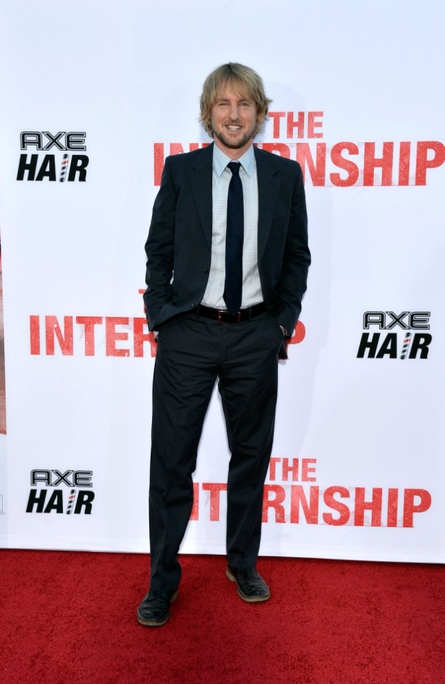Owen Wilson stars in The Internship (Picture: Frazer Harrison/Getty Images)