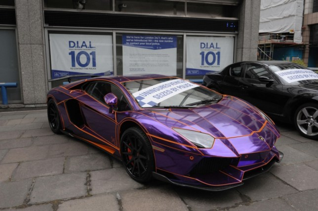Uninsured 350 000 Lamborghini Faces Being Scrapped By Police
