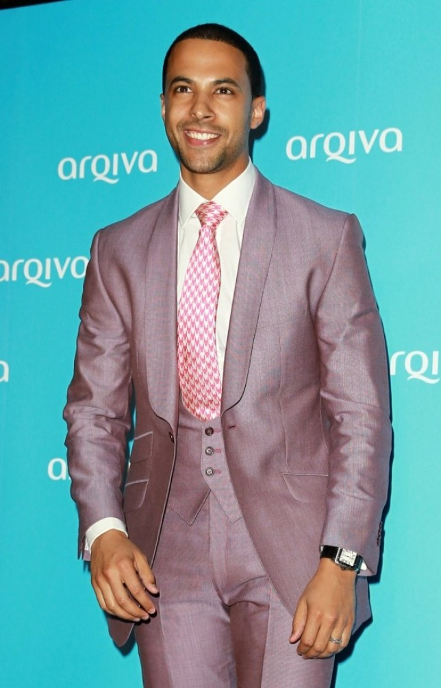 LONDON, UNITED KINGDOM - JULY 03: Marvin Humes attends the Arqiva Commercial Radion Awards at Park Plaza Westminster Bridge Hotel on July 3, 2013 in London, England. (Photo by Fred Duval/Getty Images)