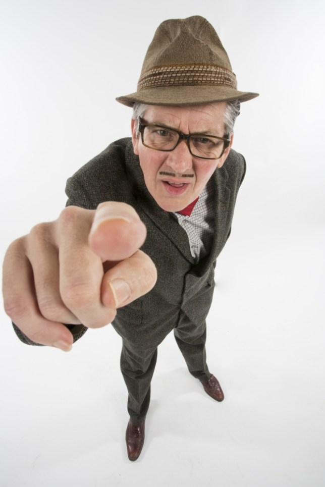 Steve Delaney in Count Arthur Strong (Picture: Colin Hutton)