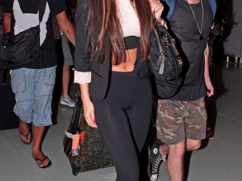 Tulisa puts legal worries behind her for Ibiza trip with Chelsee Healey