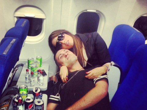 Tulisa blasted by fellow passengers on plane to Ibiza