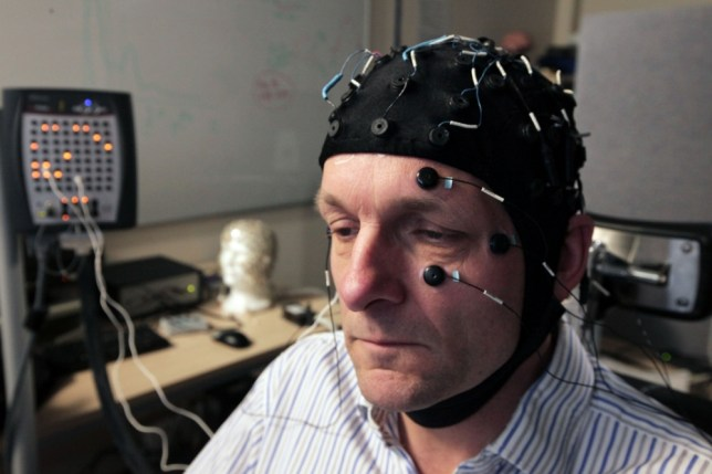 Michael Mosley was on a quest to see if he could reboot his brain and shake off his anxiety (Picture: BBC)