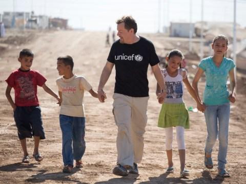 Eddie Izzard speaks out for Syria's 'lost generation' of children