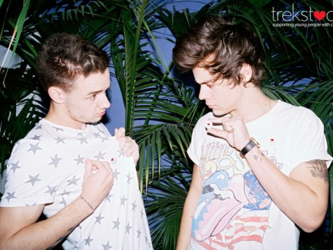 Harry Styles and Liam Payne take a break from hectic One Direction schedule to campaign for youth cancer charity