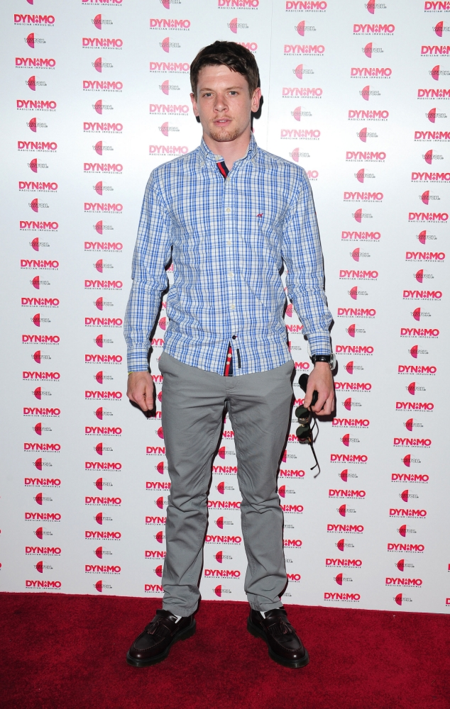 Jack O'Connell arrives at the launch party of Dynamo: Magician Impossible Series 3, which starts on Thursday 11th July at 9pm on Watch, held at Pulse in London. PRESS ASSOCIATION Photo. Picture date: Tuesday July 9, 2013. Photo credit should read: Ian West/PA Wire
