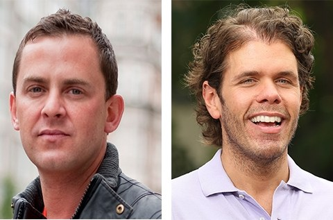 Perez Hilton and Scott Mills in Twitter spat over death of Glee star Cory Monteith