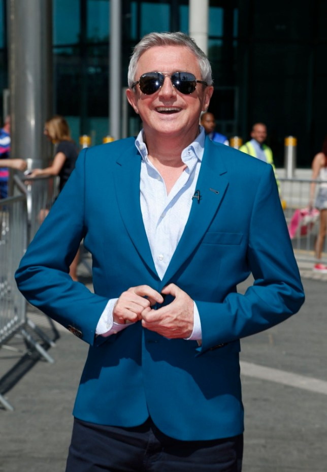 Judge Louis Walsh arrives at Wembley Arena for the London auditions of the ITV1 talent show, The  X Factor.  PRESS ASSOCIATION Photo. Picture date: Monday July 15, 2013. Photo credit should read: Jonathan Brady/PA Wire
