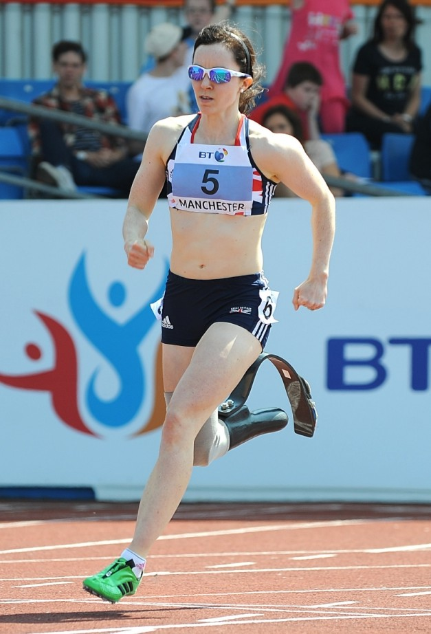 Paralympic medallist Stef Reid says athletes have no right to expect sponsorship deals