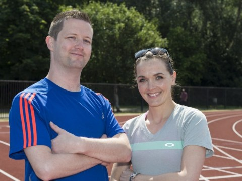 Metro goes for a run with Victoria Pendleton ahead of The National Lottery Anniversary Run