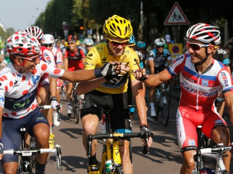 Gallery: Chris Froome leads home Tour de France procession