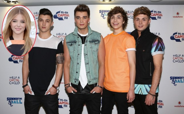 LONDON, ENGLAND - JUNE 09:  (l-r)  JJ Hamblett, Jaymi Hensley, George Shelley and Josh Cuthbert of Union J pose in the Media Room at the Capital Summertime Ball at Wembley Arena on June 9, 2013 in London, England.  (Photo by Tim P. Whitby/Getty Images)