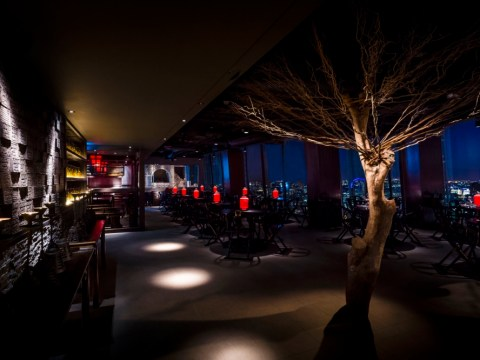 Hutong restaurant has long views from The Shard and long delays