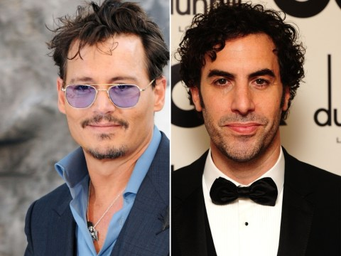 Face Off: Sacha Baron Cohen v Johnny Depp to play Freddie Mercury in biopic